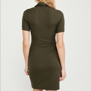 Abercrombie & Fitch Dresses - Polo Knit Dress - Olive Green (tall)